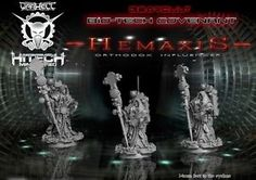 Hitech-Miniatures-BNIB-28-mm-Hemaxis Possible Additional Tech Priest