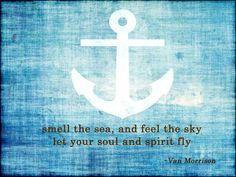 Let your soul and spirit fly ⚓️