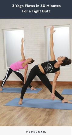A 30 minute power yoga to flow your way to a tight butt and core. A 30 minute power yoga to flow your way to a tight butt and core. Fitness Workouts, Fitness Del Yoga, Butt Workout, Workout Routines, Pilates Workout Videos, Workout Kettlebell, Core Workouts, Workout Tips, Yoga Sequences