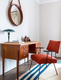 Home Tour: Retro & Colorful One-Bed Apartment - Bright.Bazaar