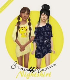 Sleeping Beauty Nightwear Recolor by Simiracle for The Sims 4