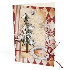 Be Merry Pine Tree Card