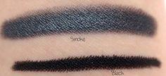 Eyeliner and Shadow Sticks: Smoke & Black  http://www.eyeslipsface.com/studio/eyes/eyeliner/eyeliner_and_shadow_stick