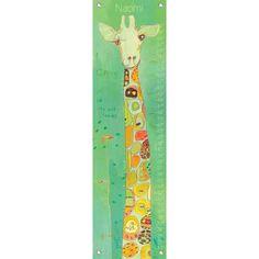 $49  Giraffe on the Grow Growth Chart  #PoshTotsNursery  room  2