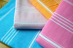Fringeless Turkish Towel