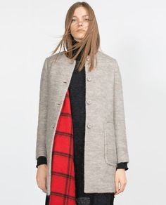 Image 2 of MOHAIR COAT from Zara