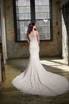 ISABELLE ARMSTRONG SPRING 2017 COLLECTION - JOEY GOWN weddings, wedding gowns, wedding dress, bridal, bridal gowns, bridal dress, lace, lace wedding gown, sexy wedding dress
