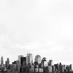 Lower Manhattan  8x8 Original Fine Art Photograph  by urbanantique, $18.00