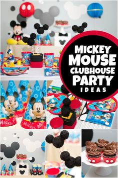 Have a last minute party to plan? Find out how to create a super Disney Junior, Mickey Mouse Clubhouse Birthday Party that kids will love!