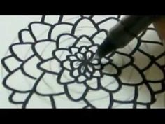 How To Draw A Flower - Carnation Flower - YouTube