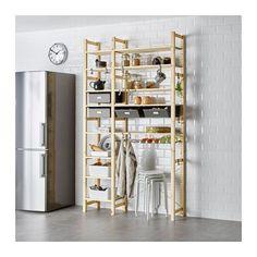 IKEA - IVAR, 2 Elemente/Böden/Schubladen, Unbehandeltes Massivholz ist ein…