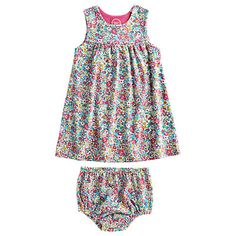 Baby Joule Josie Two Piece Dress, Ditsy Online at johnlewis.com
