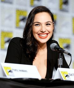 """dailydccu: """" Gal Gadot attends 'Celebrating 75 Years Of Wonder Woman' during San Diego Comic-Con 2016 at San Diego Convention Center on July 23, 2016 in San Diego, California. """""""