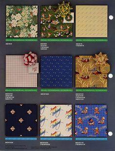 Hallmark Ambassador - Gift Wrap catalog page 2 - 1984 | Flickr