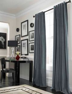 Grey Living Room Curtains