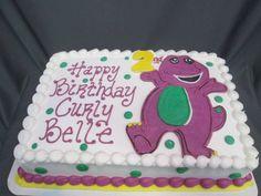 Barney birthday cake                                                                                                                                                                                 More