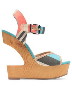 BCBGeneration Vendi platform wedges — a show-stopping shoe packed with personality