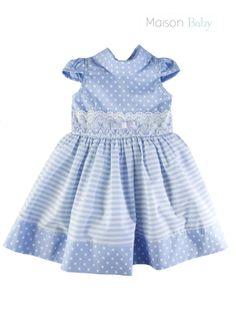 Girl's outfit. Pretty dress for baby girls. Vestido lindo de festa para as pequenas. #maisonbaby #vestidodefestainfantil #babygirl #dressforbabies #vestidoinfantil