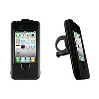 Why didn't we think of this? iPhone Bike Mount, so you can ride safely (hands free) and not worry that your phone will fall out of your pocket. Genius!