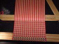 16 Inkle Weaving, Inkle Loom, Tablet Weaving, Textile Tapestry, Color Studies, Tear, Cool Tools, Outdoor Blanket, Eyeliner