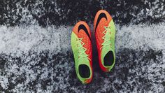 "Nike Hypervenom Phantom 3 ""Poison Green/Hyper Orange"""