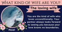 What kind of wife are you?
