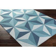 9x13 - $236.08 - wool - avail mid april - Brianne geometric rug