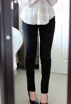 Margaret M black pants look like the perfect black pants!