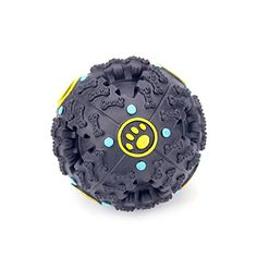 YAAGLE Pet Bite Chew Squeak IQ Training Ball Toys With Sound For Dog ...