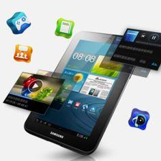 Samsung Galaxy Tab 2 7.0 P3100- TI OMAP4430 Dual Core 1GB, 8GB, 7.0 Inch, FHD GPS, Android 4.0.