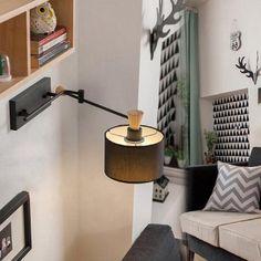 Swing Arm LED Wall Lamp Bedside Reading Light #shoes, #jewelry, #women, #men, #hats, #watches, #belts
