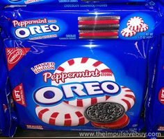 Limited Edition Peppermint Oreo by theimpulsivebuy, via Flickr Weird Oreo Flavors, Pop Tart Flavors, Cookie Flavors, Oreo Cookies, Chocolate Cookies, Yogurt Recipes, Snack Recipes, Dessert Recipes, Oreo Dessert