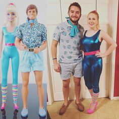 Barbie and Ken Toy Story 3 Costumes
