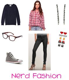 cute nerd outfits for nerd day | Have a great, nerdy day :)