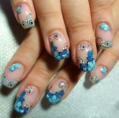 Learn something new and create unique spring nail designs in 2018 ️ Find the… - #nails #nail #art #artnails #nailsart