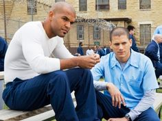 Prison Break- Best of buds through out the series. Sucre and Mike