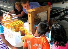 Oshkosh Farmer's Market Linskens Honey by Oshkosh BID, via Flickr