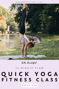 A 15 minute yoga class to feel your best that will balance and energize your body & mind perfectly. This all levels Boho Beautiful yoga practice is perfect for anyone that is looking to release tension out of their body, release stress and anxiety out of their mind. And give themselves a moment of peaceful movement and connection to their breath. | Release Stiffness | Post Workout Stretches | Yoga Fitness | Yoga for Beginners | At Home Workout | Juliana Spicoluk | Boho Beautiful yoga poses for beginners YOGA POSES FOR BEGINNERS | IN.PINTEREST.COM #HEALTH #EDUCRATSWEB