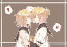 Vocaloid Len, Kaito, Neko, Kaai Yuki, Cute Anime Chibi, Animated Cartoons, Best Couple, Cool Art, Twins