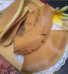 Sweet Recipes, Snack Recipes, Dessert Recipes, Cooking Recipes, Snacks, Indonesian Desserts, Asian Desserts, Crispy Crepe Recipe, Resep Cake