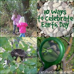 10 Ways to Celebrate Earth Day ~ Creative Family Fun