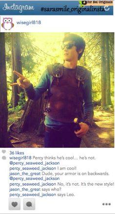 Percy Jackson Instagram