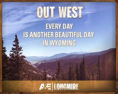 Longmire: Every Day is Beautiful in Wyoming