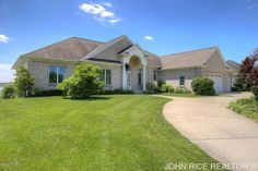 Private Lake Frontage! You will love sunrises and sunsets in this one of kind gem! Perfectly set on Cedar Lake West in Georgetown Township, this home offers southern exposure and views of the entire lake. Imagine waking up every morning to the peaceful views of sunrise over the water. Enjoy each day boating, fishing, appreciating all lake front living offers. This 5 bedroom walkout ranch, offers 3 main floor bedrooms, private master suite, formal dining area,…Follow link for more…