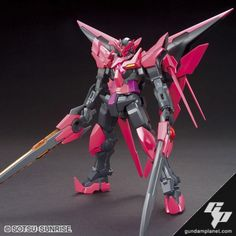HGBF Gundam Exia Dark Matter i want one of these so bad!