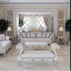 Corner Furniture, Office Furniture Design, Office Interior Design, Luxury Interior Design, Interior Design Inspiration, Fancy Living Rooms, Living Room White, Living Room Modern, My Living Room