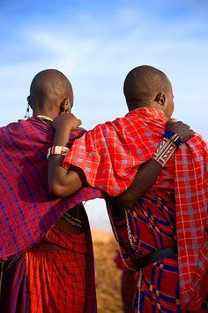 Maasai friends, Amboseli National Park, Kenya   by Jim Zuckerman