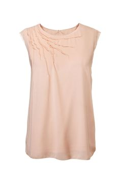 Fabulous Fashion Under $50: A flowy, ballerina-ish blouse to give your work basics a fresh outlook. Simply Vera Vera Wang top, $44; kohls.com.