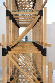 Divider van Mieke Meijer - Het eerste product uit de 'under construction' serie. De kast is zo gebouwd dat hij altijd verder uitgebouwd kan worden met hetzelfde materiaal of zelfs andere materialen.