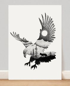 'THE EAGLE AND THE FOX', 2015  LAST SALE OF THE YEAR I am selling the last Art Prints of the year for only $25 each (worldwide shipping included!). As an appreciation for your support, I will add some extras in all orders this time, hope you like them! If you are interested, please send me an email and I will send the file with all the available illustrations - thiagoartworks@gmail.com